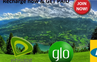Recharge and Get Paid Screenshort