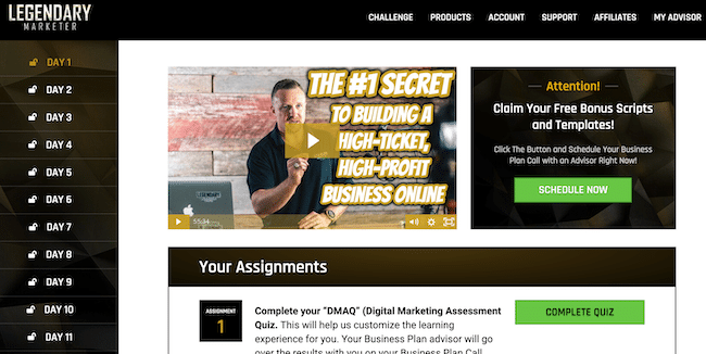 Legendary-marketer-review-15-days-business-builder-challenge