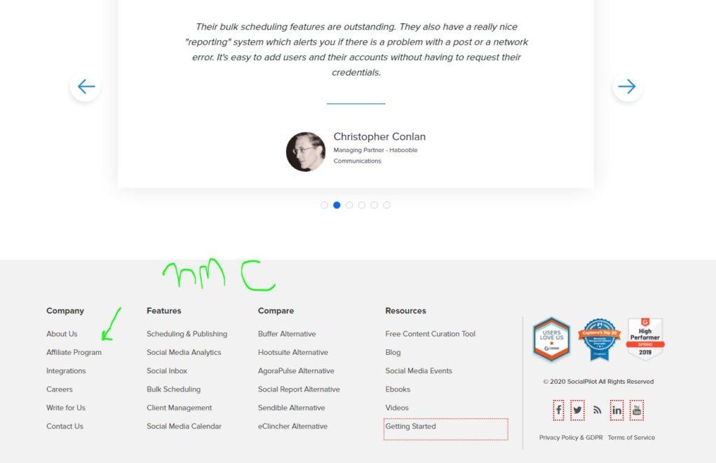 socialpilot affiliate link earn passive income ideas