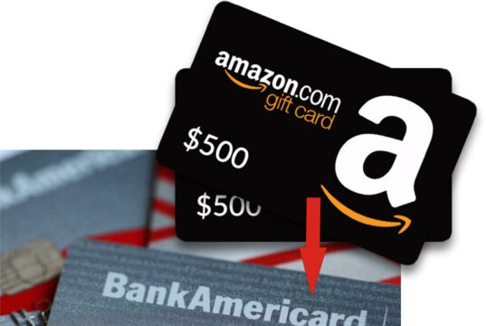 transfer amazon gift card to bank