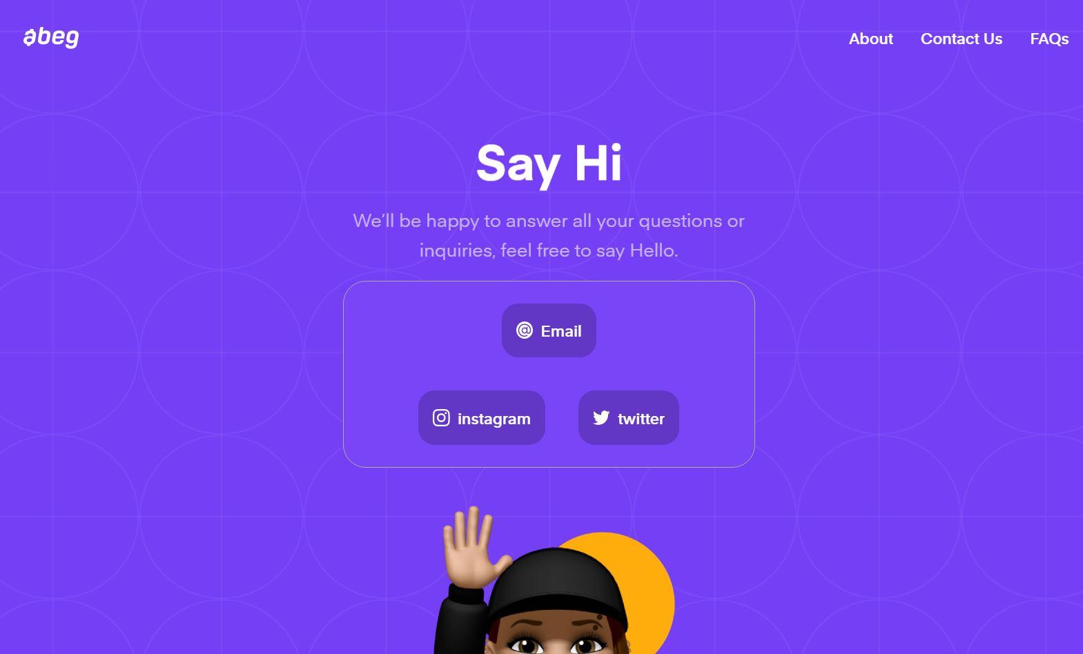 Abeg App Review Customer care