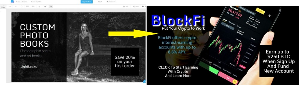 how to make 100 dollars per day with snappa  blockfi